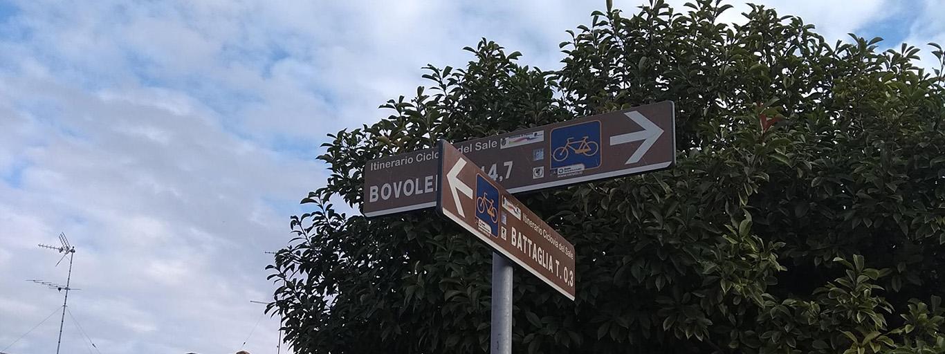 Padova – Bovolenta – Battaglia Terme – Galzignano – Torreglia