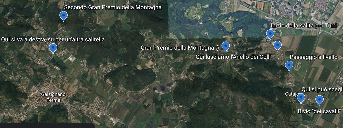 Illustrare le gite con Google Earth Web
