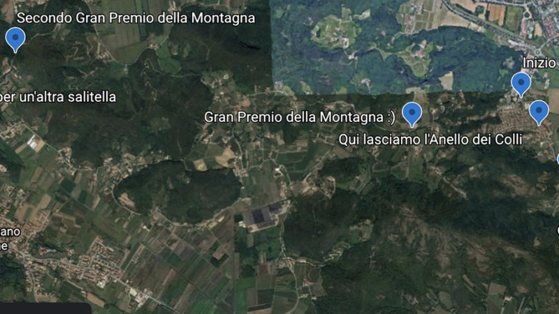 Illustrare le gite con Google Earth Web